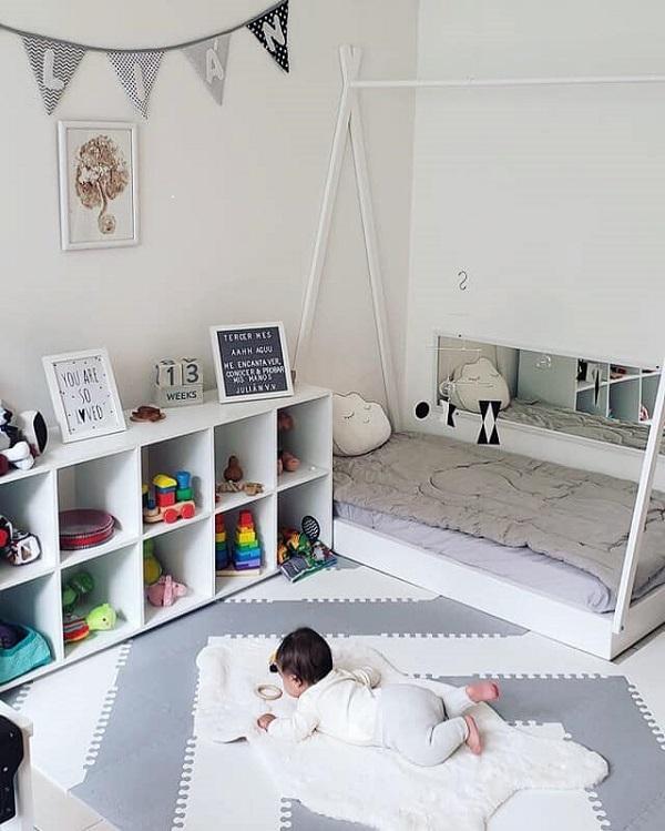 Thiết kế không gian Montessori tại nhà