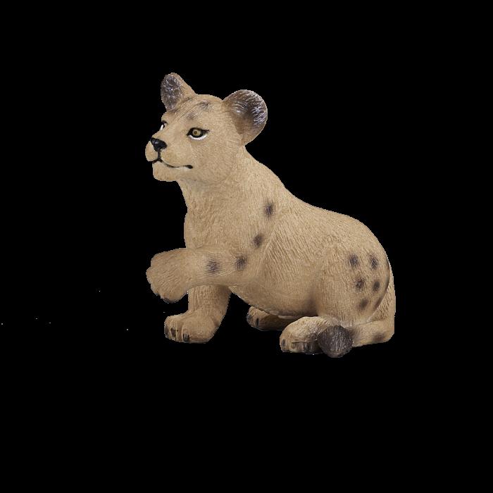 mô hình sư tử con ngồi